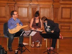 Ensemble Leones rehearse