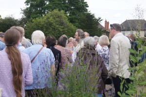 David Stocker introduces delegates to Gainsborough (c) Kay Lacey