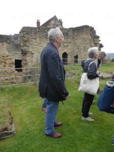 Clive at the Bishop's Palace (c) Celia Charlton