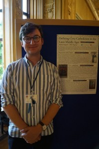 Richard Asquith at the Post Graduate Poster Displa…y Kay Lacey